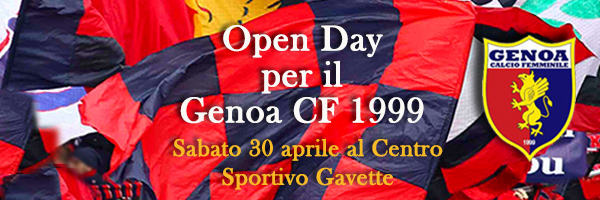 Open Day 30 aprile 2016