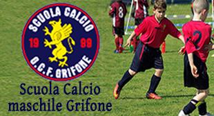 Scuola calcio Grifoni sotto news